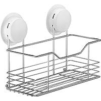 Garbath 260022 Suction Shower Shelf Wall Organizer