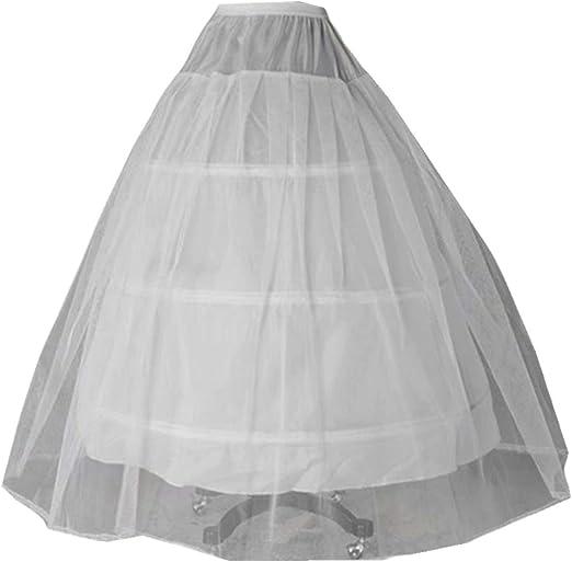 White or black short petticoats women a line underskirt for wedding dressDP