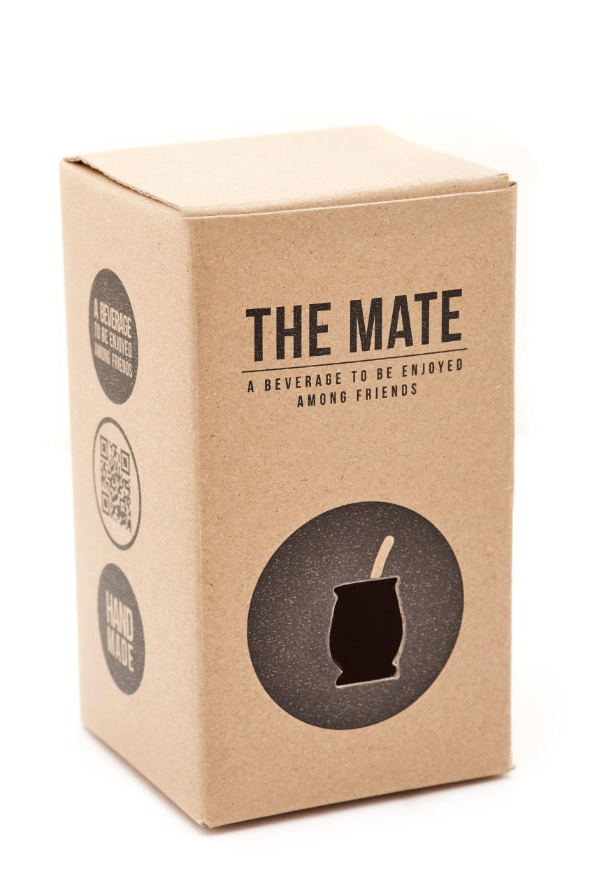 BALIBETOV Yerba Mate Set - Yerba Mate Gourd (Mate Cup) and Bombilla Straw - Traditional Yerba Mate Cup from Selected Handmade Mate Gourds for Yerba Mate Loose Leaf Drinking