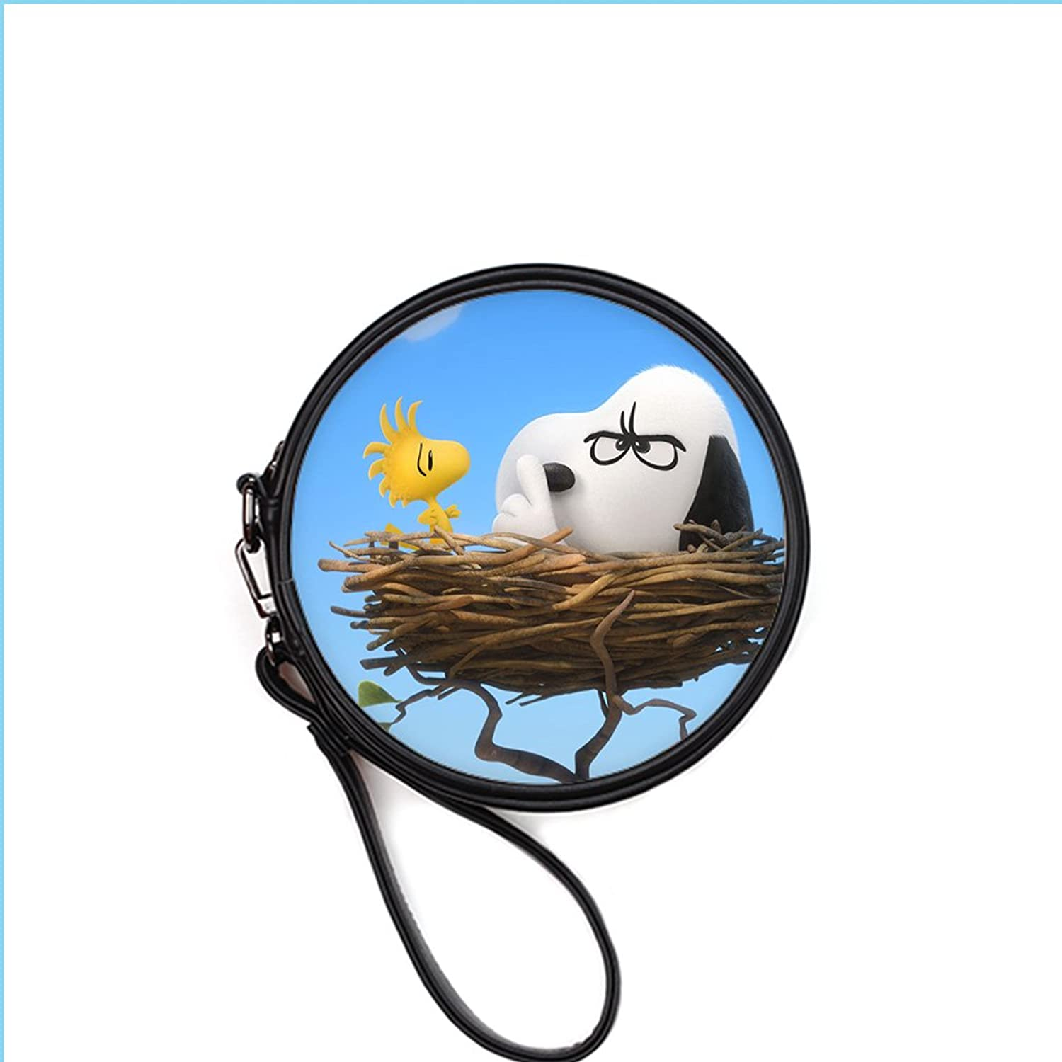 Freehome Leisure Round Snoopy Fashion Lady Makeup Bags