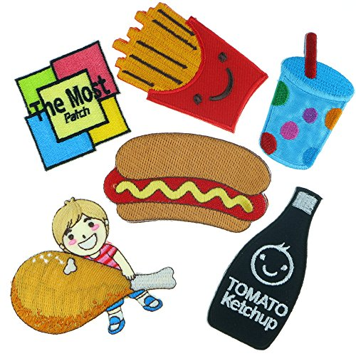 set-fast-food-hot-dog-french-fries-drumstick-chicken-drink-tomato-ketchup-embroidered-iron-sew-on-pa