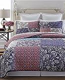 Martha Stewart Collection Potpourri Patchwork Reversible Cotton King Quilt Coverlet