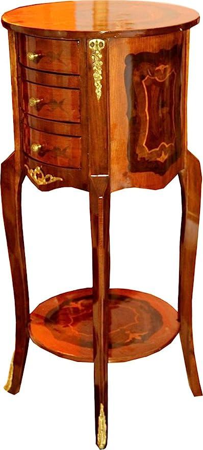 Casa Padrino Cajonera barroca cajones marrón 80 x 40 cm - Mesa ...