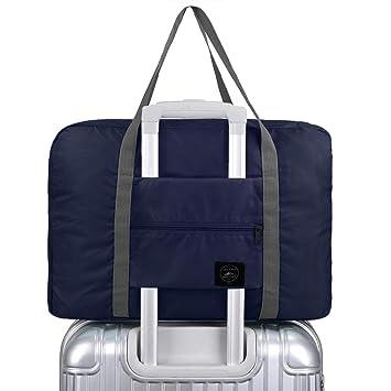 X charmer Duffle Bag 32L Ultra Lightweight Foldable Packable Overnight  Holdall Waterproof Travel Handbag Shoulder Organizer 7882888ae9