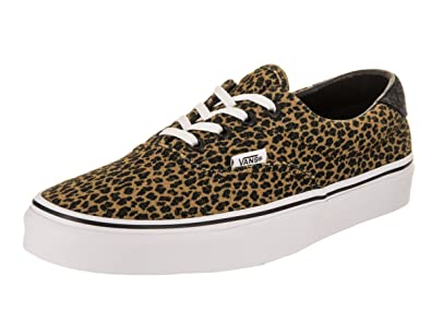 Unisex Era 59 (Mini Leopard) Brown/True White Skate Shoe 4.5 Men US/6 Women US