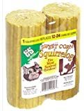C & S Products Sweet Corn Squirrelog, 12 Count, 2 per set, Set of 6