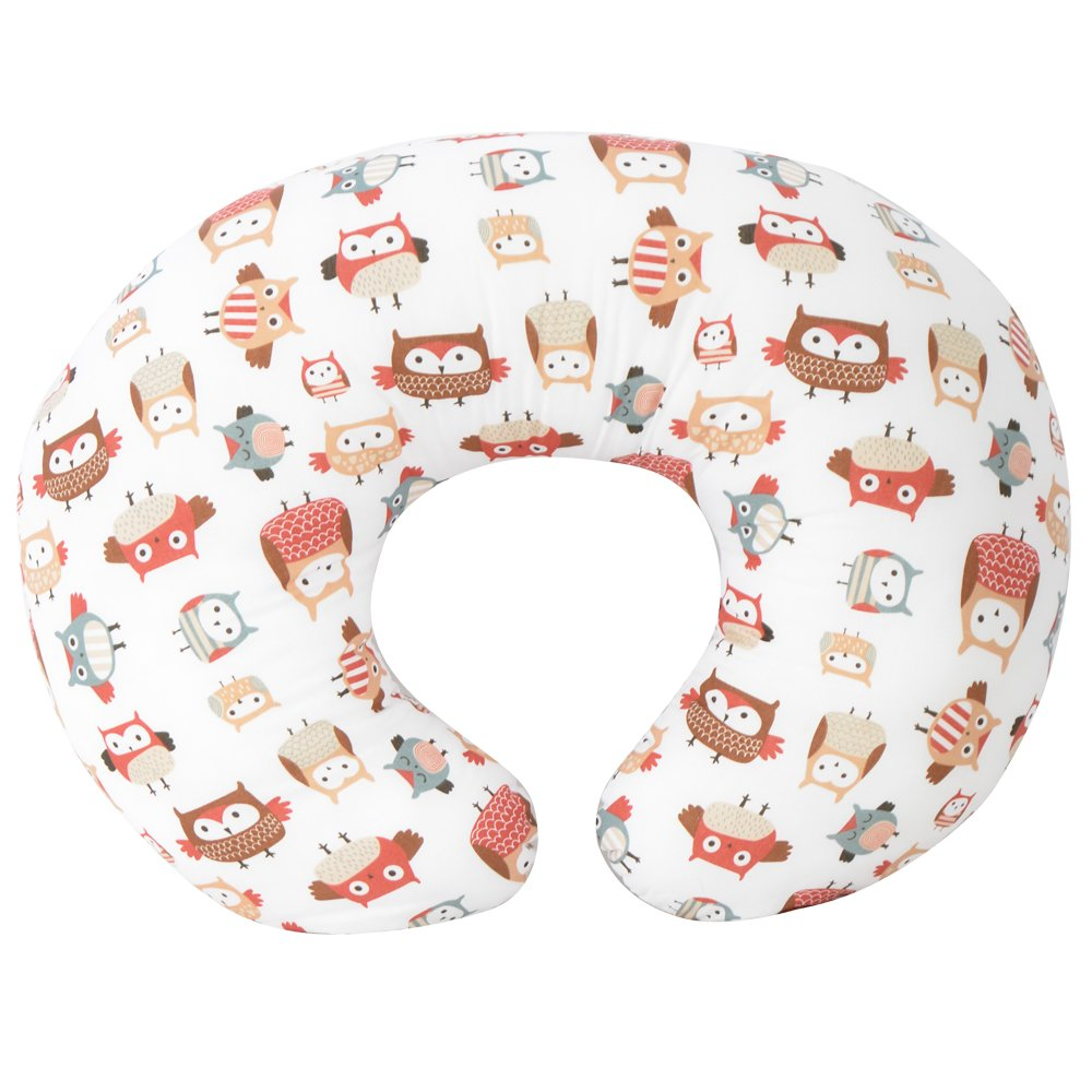 Kidiway 3120 Kidilove Nursing pillow self cover Owl Family Neutral (New)