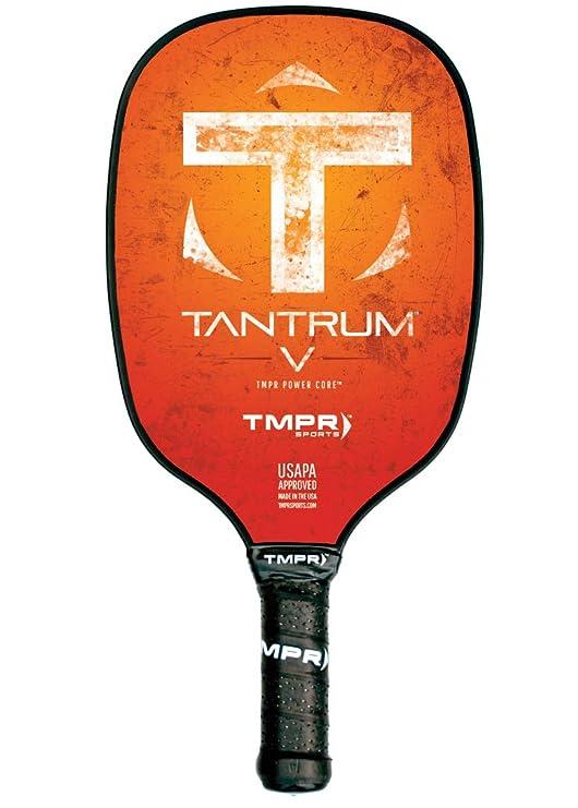 TMPR Sports Tantrum V Paleta de Pickleball, Naranja: Amazon.es ...