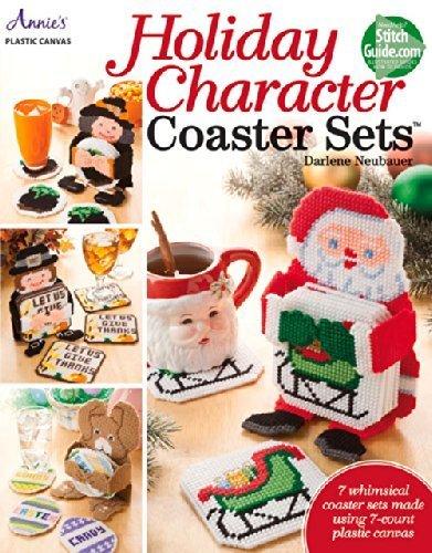 Holiday Coaster Set Tree - Holiday Character Coaster Sets by Darlene Neubauer (2014-09-27)