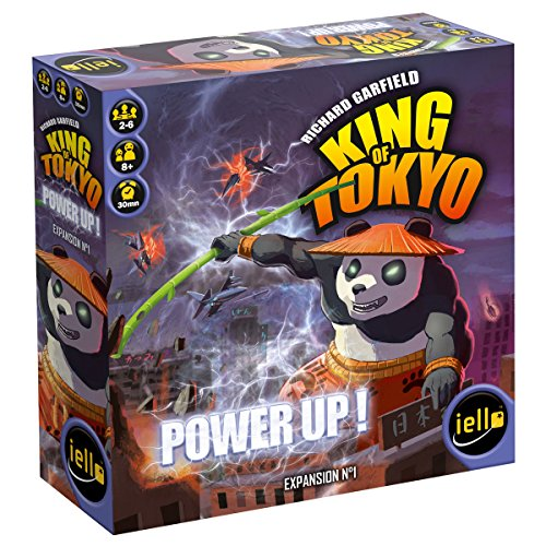 King of Tokyo Power Up Expansion Game by IELLO