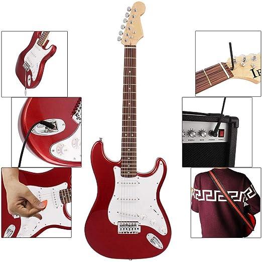 Yingm Guitarra Acustica 38 Pulgadas de 6 Cuerdas Guitarra ...