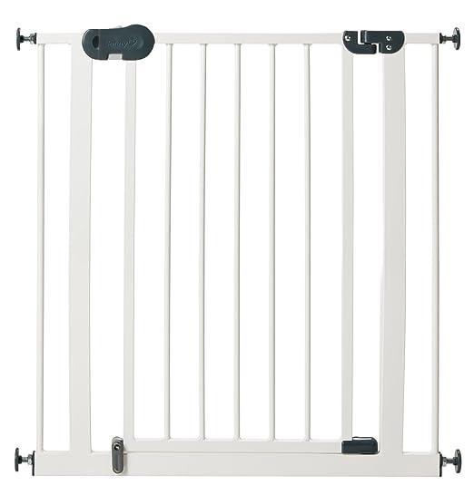 32 opinioni per Safety 1st- Cancelletto Easy Close Metal Plus, 75- 81,5 cm, White, 24004310