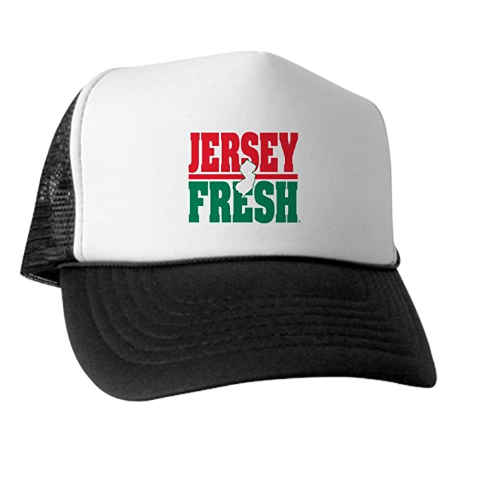 78b525814 Amazon.com: CafePress - Jersey Fresh - Trucker Hat, Classic Baseball ...