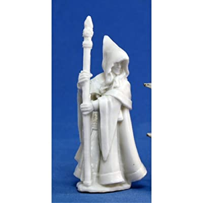 Reaper Anirion, Wood Elf Wizard (1) Miniature: Toys & Games