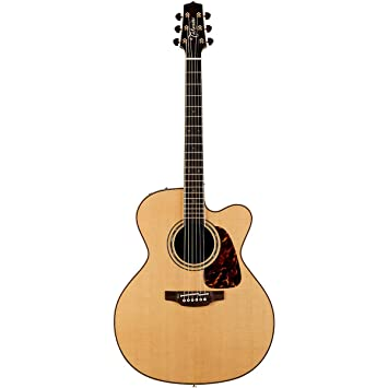 TAKAMINE Pro Serie 7 Jumbo cuerpo acústica guitarra eléctrica con funda