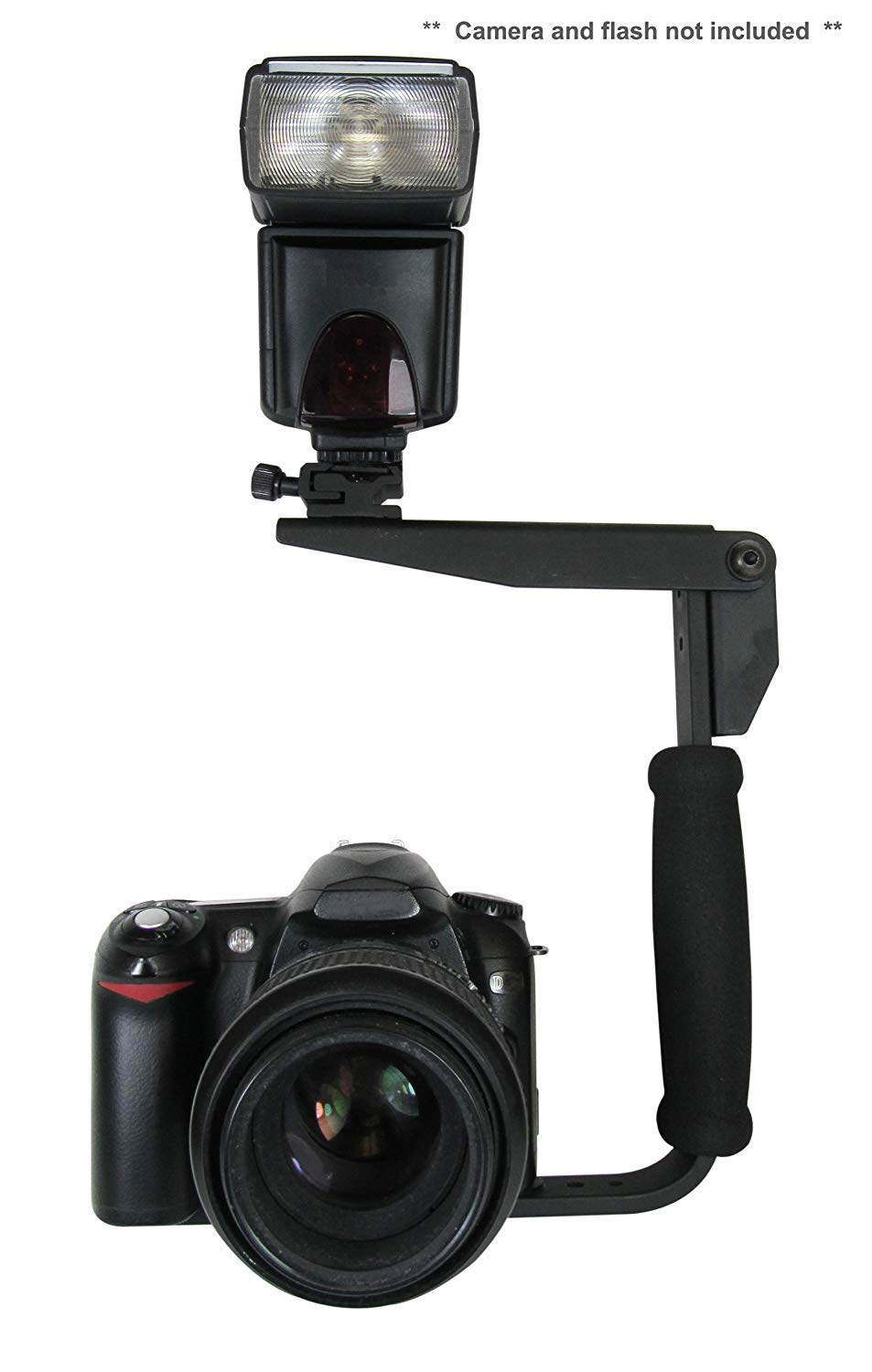 Flash Bracket for Sony Alpha a99 II (PivPo Pivoting Positioning) 180 Degrees (Sony Shoe) by Digital Nc