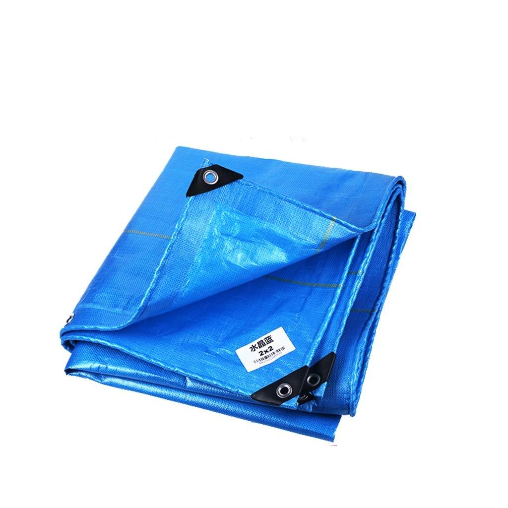 33M  LYN Toile prougeectrice imperméable et résistante à l'usure de bÂche en cristal bleue de tissu de bÂche de prougeection de PE de bÂche de prougeection extérieure imperméable en tissu de prougeection solai