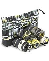 Envirosax Summer Splash Pouch Reusable Shopping Bags (Set of 5), Multicolor
