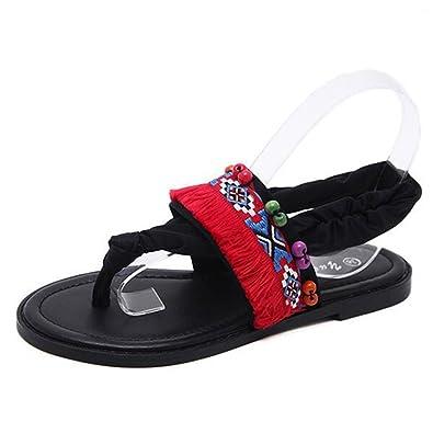 e8a847b747b99d Image Unavailable. Image not available for. Color  Women Flip Flops Flat  Sandals ...