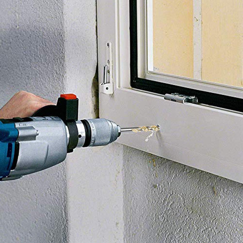 6, 8,10,12mm 10pcs Drill Bit Set for Tile Concrete Brick Wood Tungsten Carbide