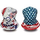 Neck Gaiter Summer Face Scarf Dust Wind Motorcycle Bandana Rave Balaclava Sport