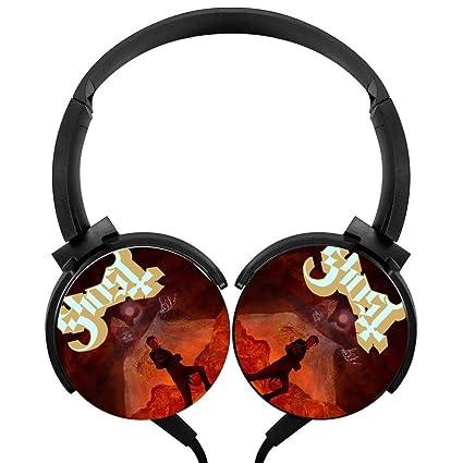 Amazon com: Over-Ear Headphone Ghost Evil Boo Stereo
