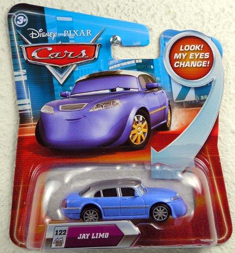 Disney Nemo Car (Disney / Pixar CARS Movie 155 Die Cast Car with Lenticular Eyes Series 2 Jay Limo)