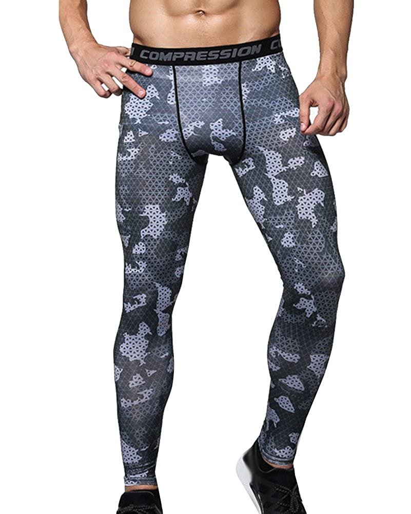 Herren Sporthosen Fitnesshosen Kompressionshose Training Leggings Hose Pants Tights