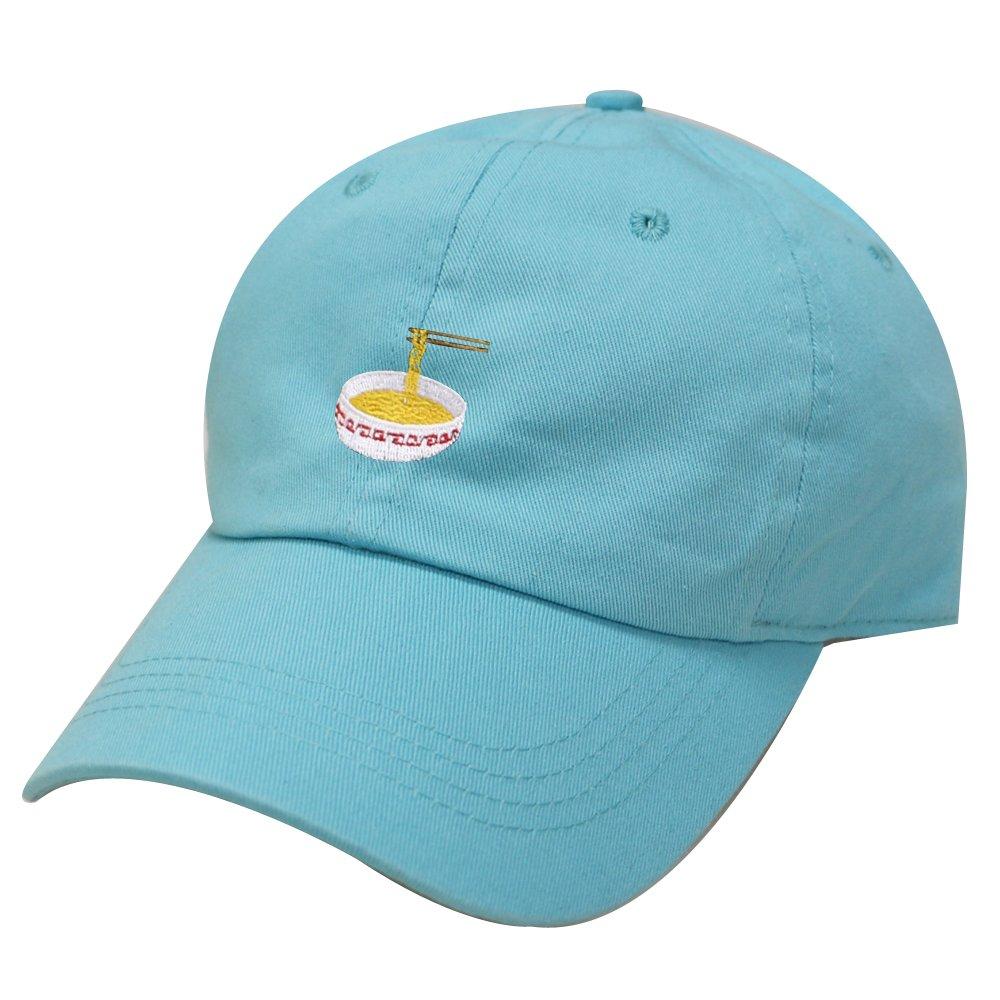 1df62ea1f77 City Hunter C104 Noodles Cotton Baseball Dad Caps 17 Colors (Aqua) at  Amazon Men s Clothing store