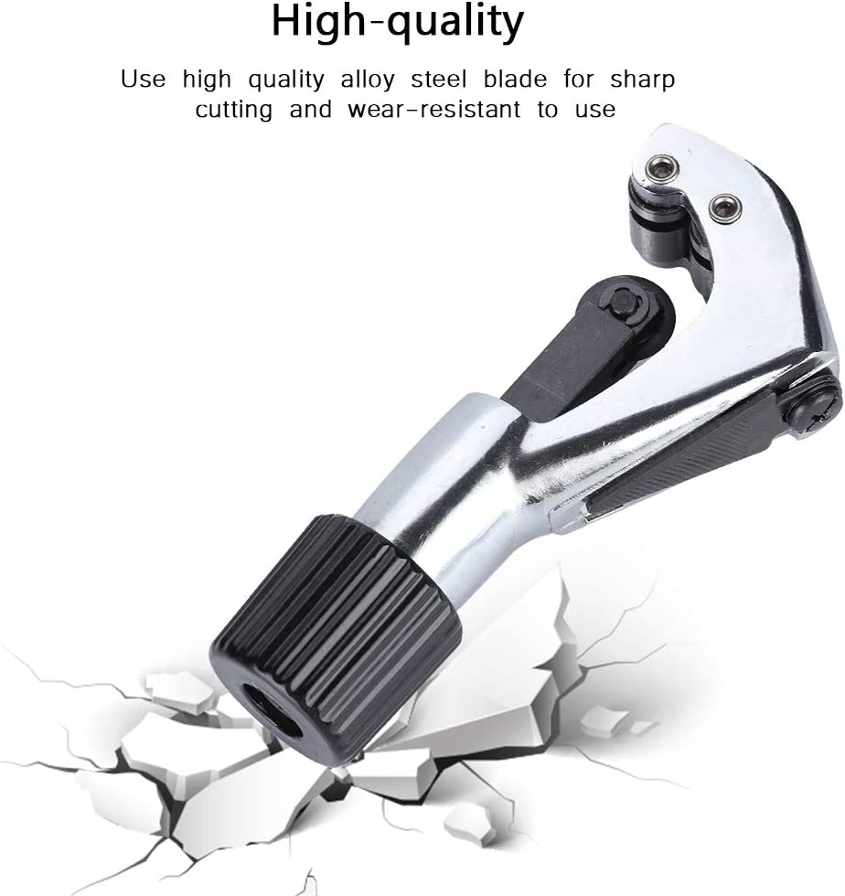 Tihebeyan Rohrschneider PVC//Rohr//Kupfer//Stahl Schneidwerkzeug 1//4-2 Rohrschneider Erweiterte L/änge