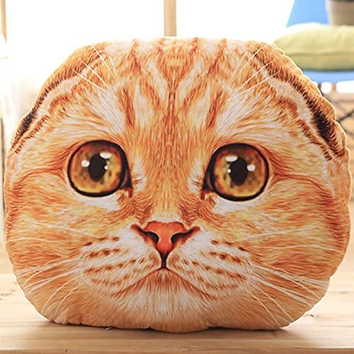 ZYYJG Adornos Simulación Creativa Gato de Dibujos Animados en 3D ...
