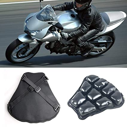 Amazon.es: liuxi - Cojín Hinchable Transpirable para Moto ...