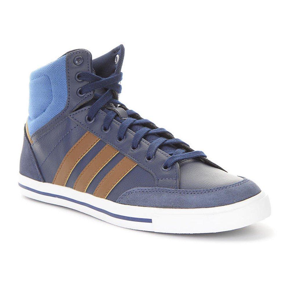 Adidas Cacity Mid, Zapatillas de Deporte Exterior para Hombre 42 2/3 EU|Azul Marino / Marrón / Azul (Maruni / Stcort / Azucen)