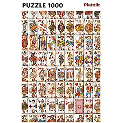 Piatnik Playing Cards Puzzle: Toys & Games