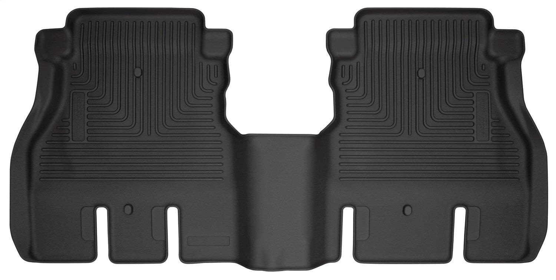 Husky Liners 14041 Black 2nd Seat Floor Fits 18-18 Wrangler JL