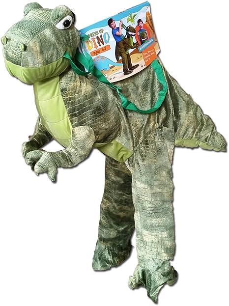 Mehrfarbig small foot 11125 Kost/üm-Weste Triceratops-Dinosaurier Verkleidung f/ür Kinder ab 3 Jahren Spielzeug