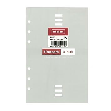 Recambio Agenda FINOCAM Open, R550 500 Hojas Informativas ...
