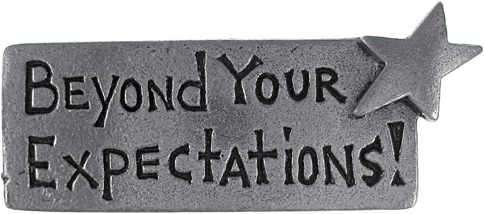 Amazon.com: Jim Clift Design Beyond Your Expectations Lapel Pin ...