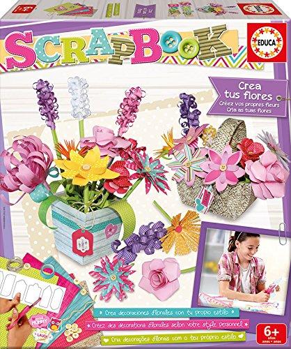 Educa Borras - Scrapbook Mi Set de Arte Floral (16