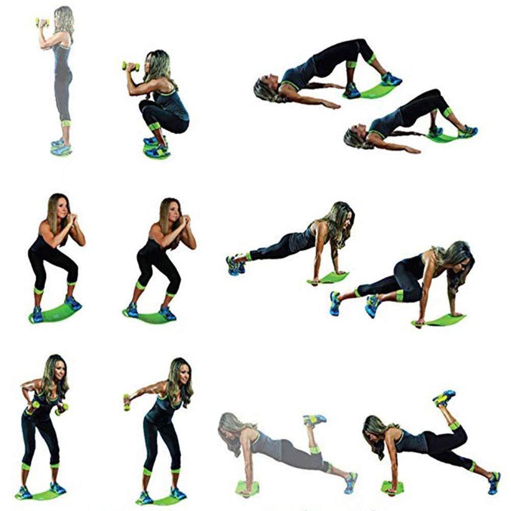 Balance Board Dentra/înement Fit Unisex Planche D/équilibre Twist Exercise Twenty pour Lentra/înement De Base des Muscles Abdominaux Et La Th/érapie Physique SHIYN Balance Board