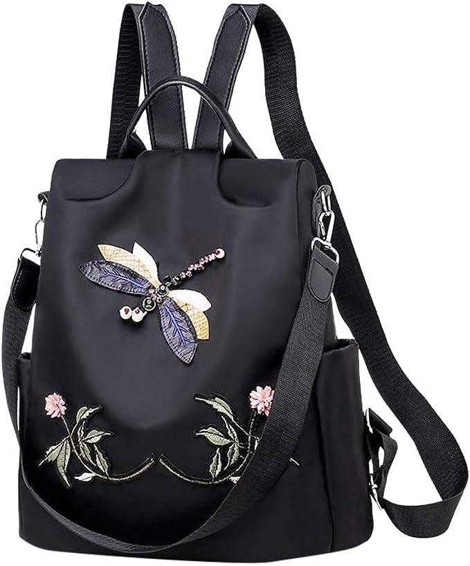 Women Ladies Designer Oxford Cloth Style Shoulder Bag Big Capacity Handbag Solid