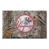 FANMATS 19041 Team Color 19' x 30' New York Yankees Scraper Mat (MLB Camo)