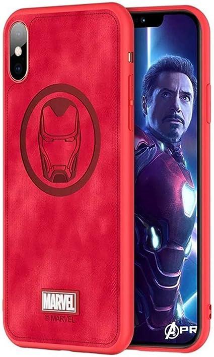 XJSW Marvel Avengers Coque de protection pour iPhone XR Motif ...