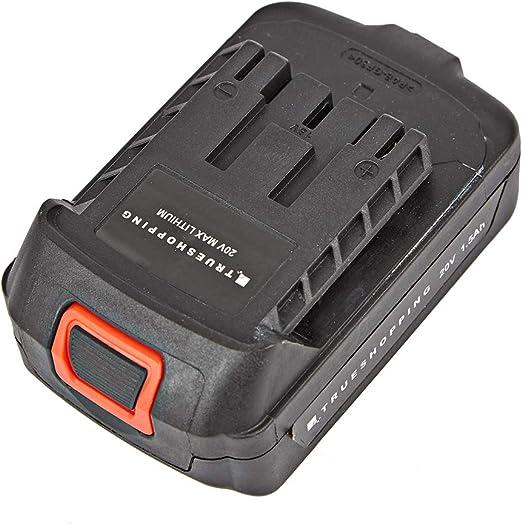 Trueshopping Batería Recargable de 20 V - para Herramientas 20 V y ...