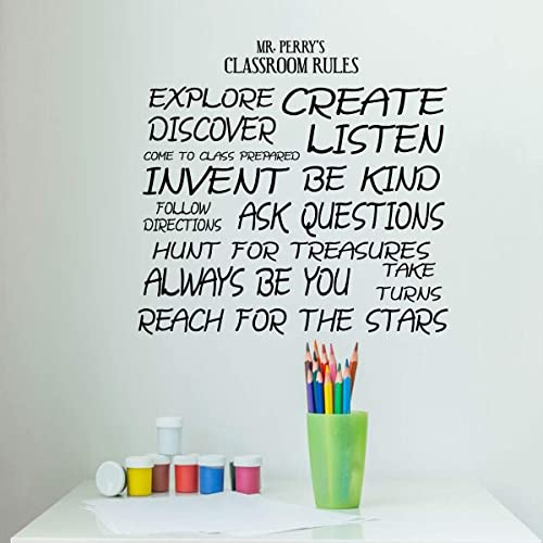Amazon Com Personalized Teacher Decoration Fun Classroom Rules