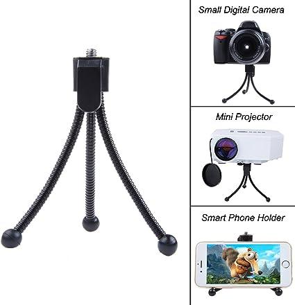 Soporte trípode compacto y flexible para cámara digital o mini ...