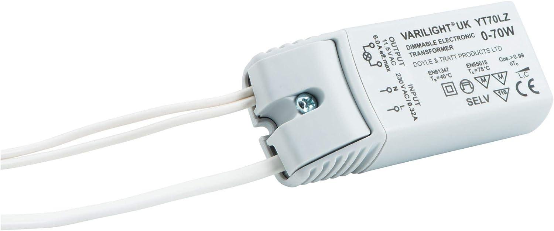 Varilight YT70LZ éclairage Transformateur 0-70VA Dimmable basse tension