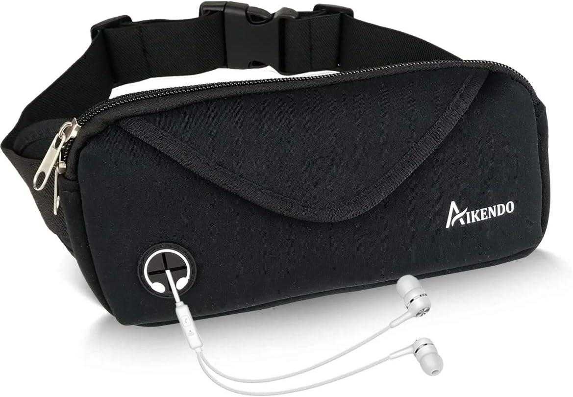 Waist Belt Bag Pack Pouch Bum Sport Running Jogging Runner Unisex Dual Pocket