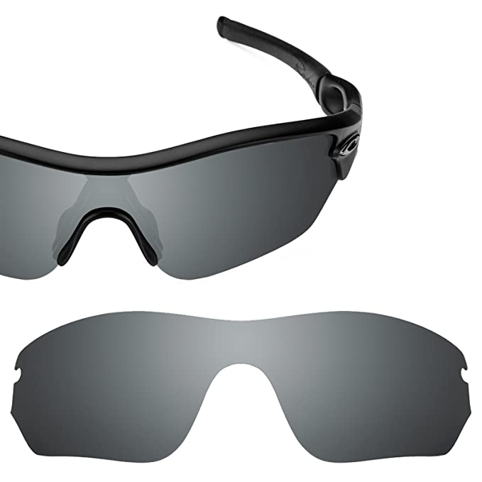 ce2feaecd4d Revant Polarized Replacement Lens for Oakley Radar EdgeBlack Chrome  MirrorShield