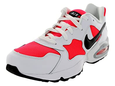 Nike Men's Air Max Triax '94 Lsr Crimson/Blk/White/Wlf Gry Running Shoe 10.5 Men